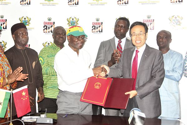 China gives $60- million for UHAS project