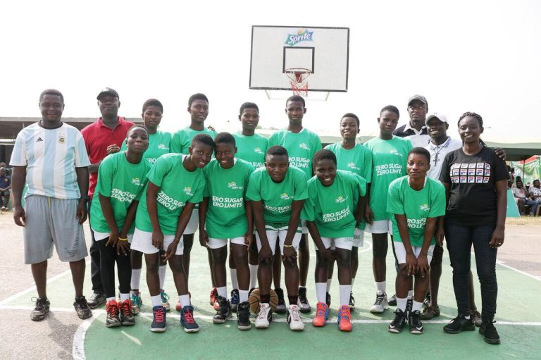 Kumasi Girls defends Sprite Ball title