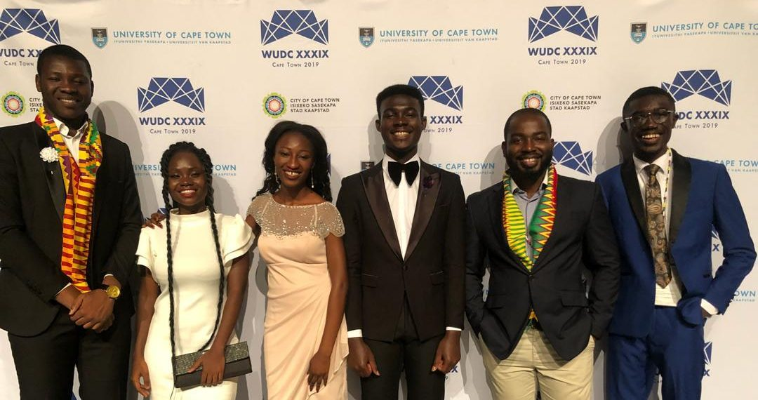 University of Ghana wins big at 2019 World Universities Debate Championship