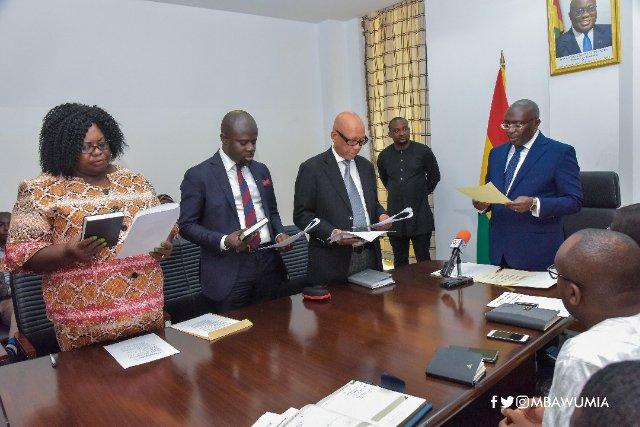 Wuogon violence : Emile Short Commission sworn-in