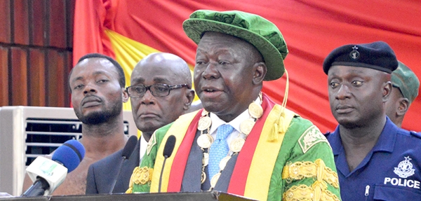 KNUST: Chancellor In Favour Of Mixed Halls