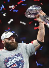 New England Patriots wide receiver Julian Edelman named Super Bowl LIII MVP