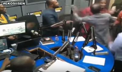 Nana B apologises for assaulting Sammy Gyamfi