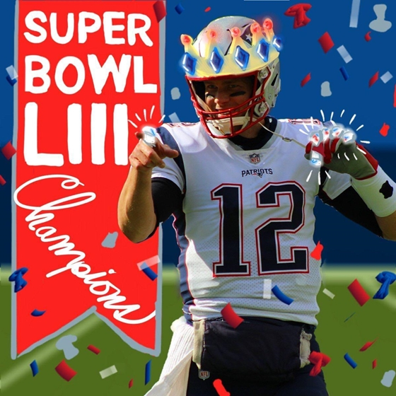 New England Patriots are Super Bowl LIII Champions