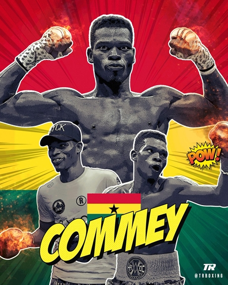 Akufo-Addo Congratulates Richard Commey for becoming world IBF lightweight champion