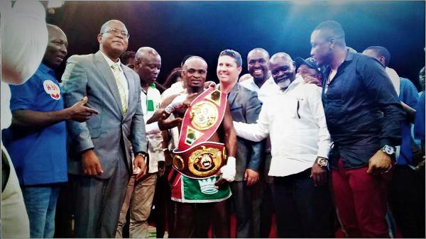 Ghana's Emmanuel Tagoe beats Gusev to win WBO Global, IBF Int titles