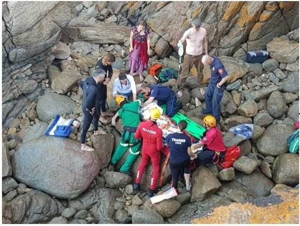 South Africa: Man survives 10m cliff fall at Victoria Bay