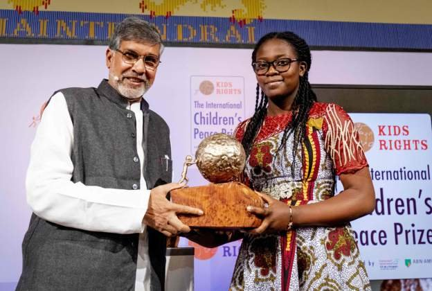 Image result for international children's peace prize 2019